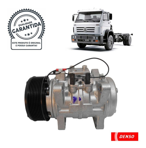Imagem 1 de 5 de Compressor Denso Bc447190-1560rc (10p15 / 24v) 18310 / 31260