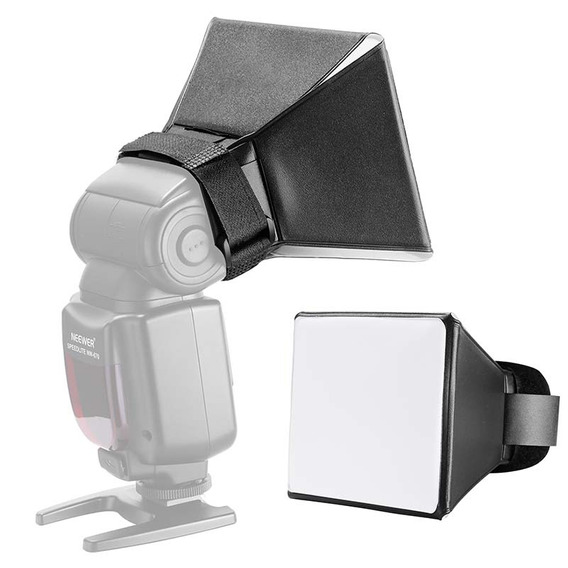 Difusor Softbox Mini P/ Flash Speedlite 13x10cm - Yuer