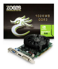 Nvidia - Geforce Gt 630 1gb Ddr3 - Zogis