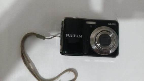 Câmera Digital Fujifilm Finepix Av150 14mp Preta Funcionando