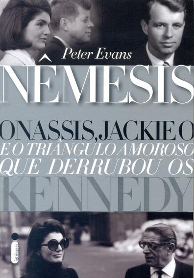 Livros Nêmesis : Jackie O Onassis Kennedys Frete Mais Barato