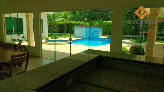 Chácara Residencial À Venda, Recreio Das Águas Claras, Rio Claro. - Ch0028