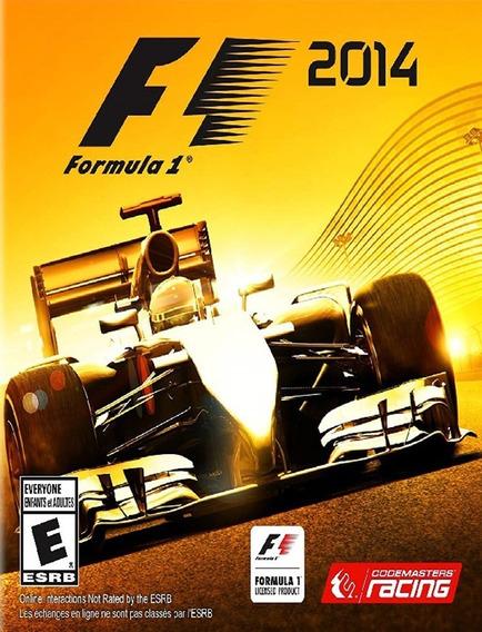F1 2014 Pc - 100% Original (steam Key)