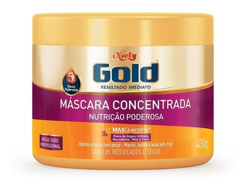 Imagem 1 de 1 de Niely Gold Máscara Concentrada Nutrição Poderosa