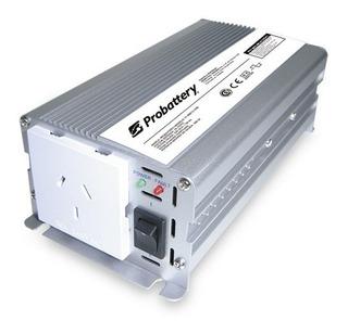Inversor Corriente Probattery 12v A 220v 300 Watts Enc Autos