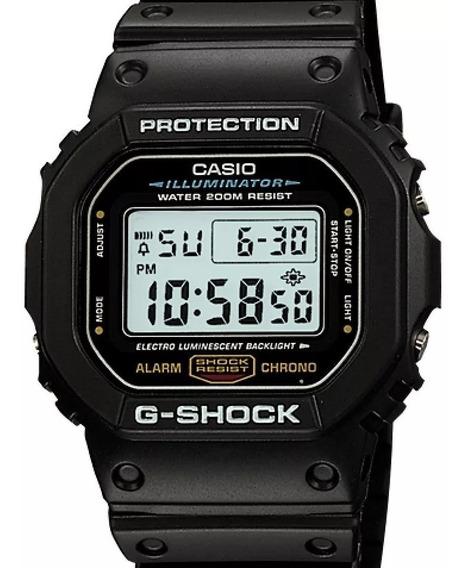Relógio Casio G-shock Masculino Dw-5600e-1vdf (3229)