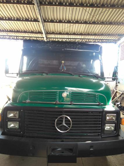 Caminhão Mb 1114 6x2 C/ Carroceria Conservado Ano 1986