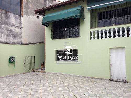 Sobrado À Venda, 300 M² Por R$ 990.000,01 - Vila Scarpelli - Santo André/sp - So3479