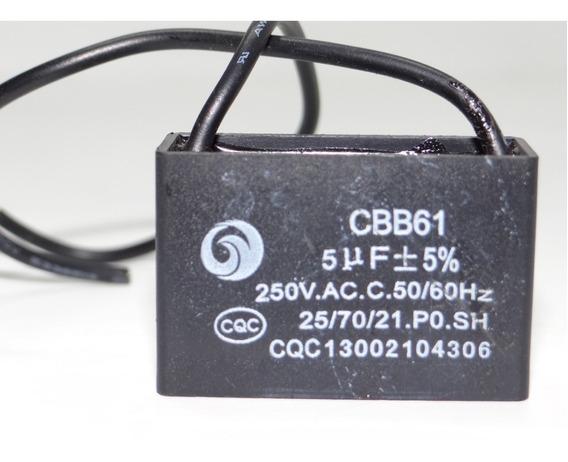 Capacitor Cbb61 5uf 250vac