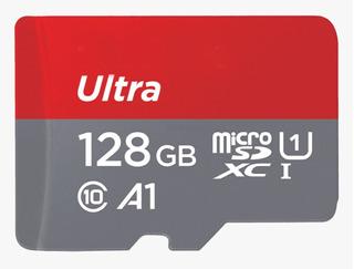 Cartao Memoria Micro Sdxc Ultra 100mb/s 128gb Moto Z X Drone