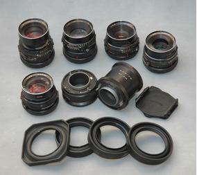 Objetivas 04 (quatro), Para Câmera Fotográfica Mamiya Rb 67