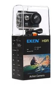 Câmera Eken H9r Hd 4k Wifi (preta)+ 2 Sd 32 Gb Sandisk