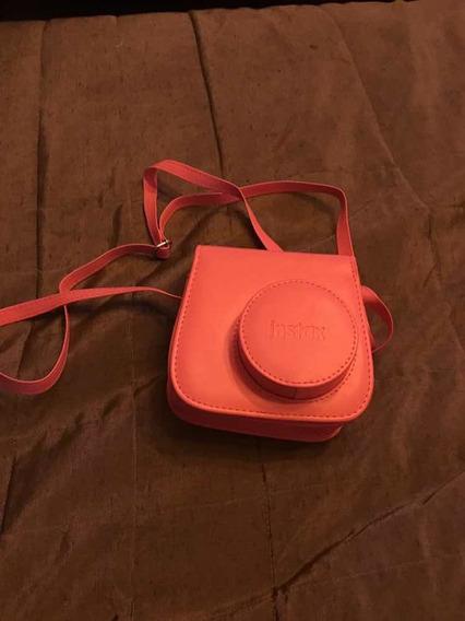 Capa Para Câmera Fuji Instax Mini 9 Cor De Rosa