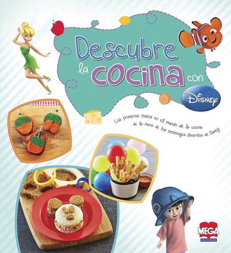 Imagen 1 de 1 de Libro Descubre La Cocina Con Disney Nuevo