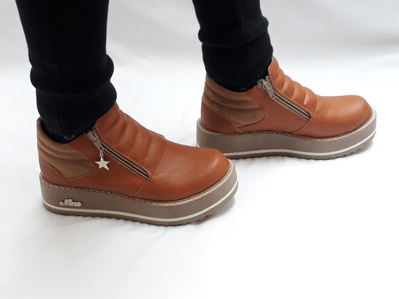 Zapatos De Mujer Botinetas Botitas Moda Otoño Invierno 2019