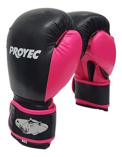Guantes Boxeo Proyec Venus Box Kick Muay Thai Mujer