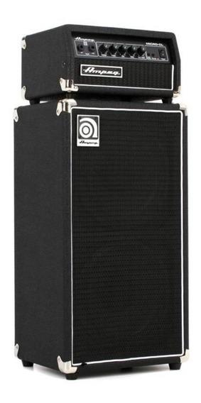 Ampeg Micro Cl Stack Stack 100w Cabeza Estado Solido + Bafle