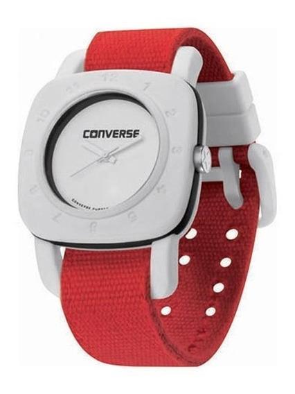 Relógio De Pulso Converse 1908 Regular - Branco/vermelho
