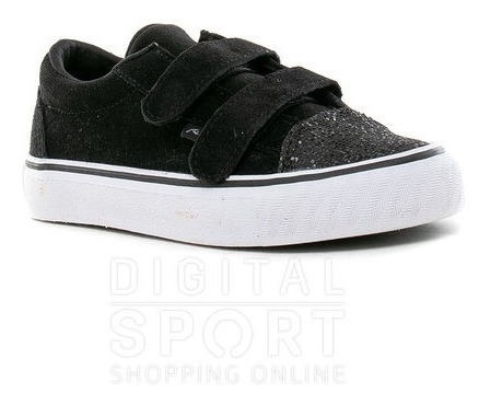 Zapatillas De Niño Rusty Hans Coal Black
