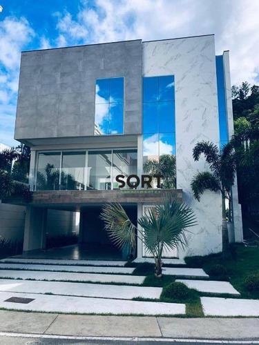 Casa No Cond. Porto Riviera Exclusive, Praia Brava Itajaí - Ca0045