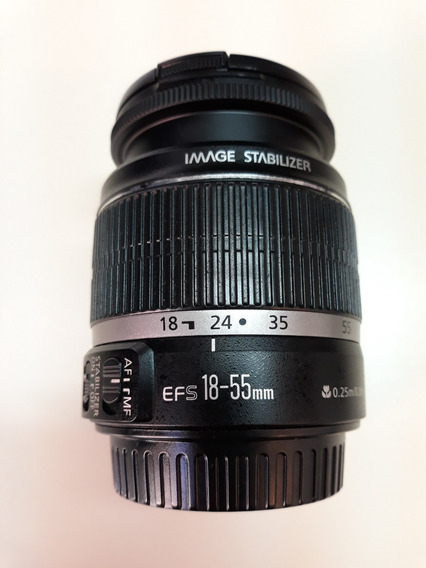 Lente Canon 18-55mm Ef-s 1:3.5-5.6 Is Autofoco