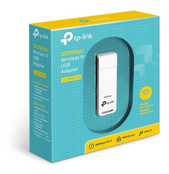 Placa De Red Tp-link Tl-wn821n 3000mb Wifi Usb Wireless