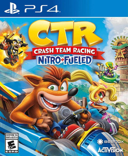 Crash Team Racing Nitro Fueled Ps4 | Jugas Con Tu Usuario 2*