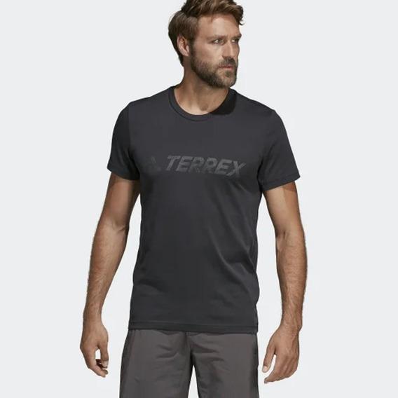 adidas Remera Logo Terrex Negro