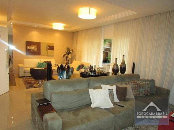 Apartamento Com 3 Dormitórios À Venda, 196 M² Por R$ 1.550.000 - Condomínio Único Campolim - Sorocaba/sp, Próximo Ao Shopping Iguatemi - Ap0222