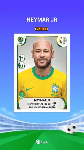Figurinha Clássica Neymar