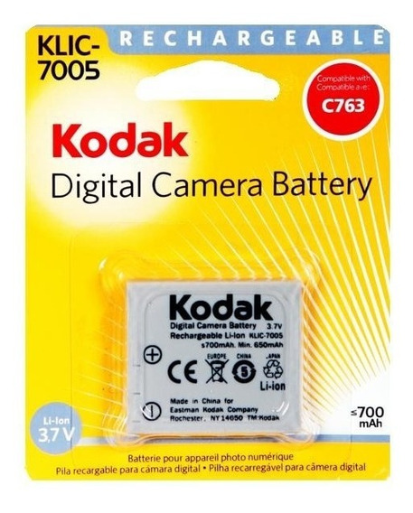 Bateria Kodak Clik 7005 Original Nueva Para Easyshare C763