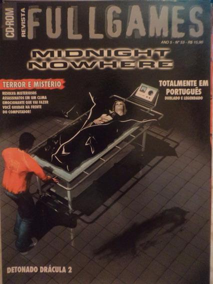 Jogo Pc: Midnight Nowhere (revista Fullgames) Em Português