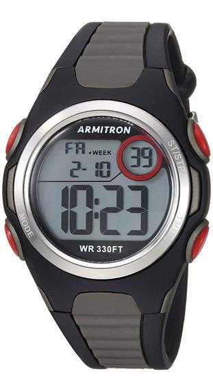 Armitron Sport Unisex 45/7076bog Red Accented Digital