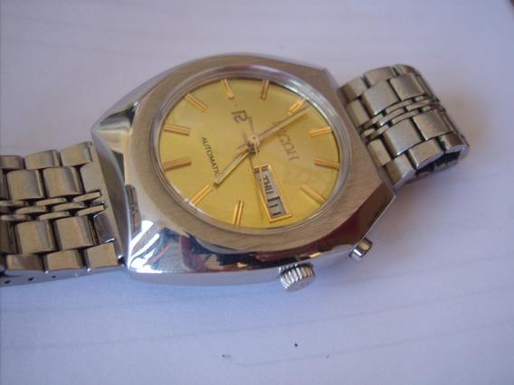Relógio Masculino Automático Antigo Ricoh=seiko,tissot,casio