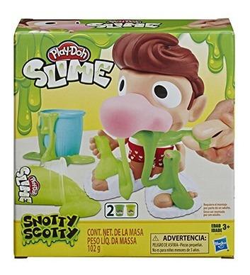 Imagem 1 de 2 de Playdoh Slime Snotty Scotty