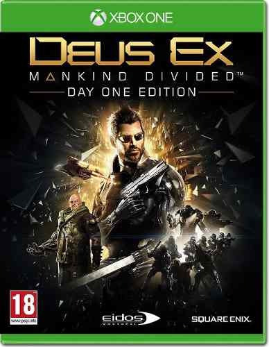 Deus Ex Mankind Divided Xbox One Day One Edition Dlcs