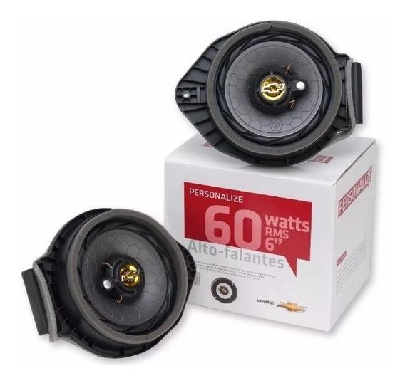 Kit Alto-falantes 6 60 Watts Rms Genuíno Gm - 52024930
