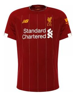 Nova Camisa Liverpool Preta 2019 Promoção Original
