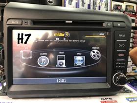 Central Multimídia Honda Civic 2015 Preto