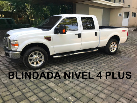 Ford F250 Super Duty Diesel Blindada Nivel 4 Plus 2010 (imp
