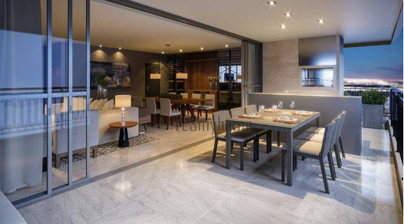 Luxuoso Apartamento 4 Suítes, Com Design Exclusivo No Batel. - Ap3496