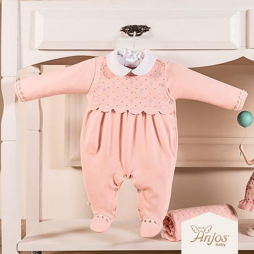 Imagem 1 de 3 de Saída Maternidade Rosa 2 Peças Balões