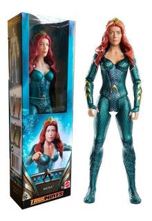Figura Articulada Mera Aquaman 30 Cm Original Mattel