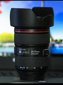 Lente Canon 24-70 F/2.8 Ll Usm