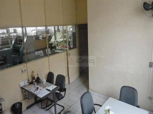 Galpão Para Alugar, 1600 M² Por R$ 16.500,00 - Vila Nova Manchester - São Paulo/sp - Ga0009
