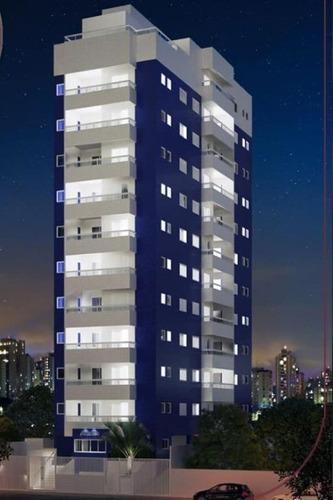 Apartamento Com 2 Dormitórios À Venda, 62 M² Por R$ 320.000,00 - Vila Guilhermina - Praia Grande/sp - Ap9977