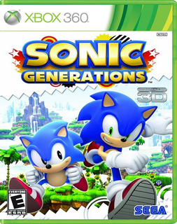 Sonic Generations X360