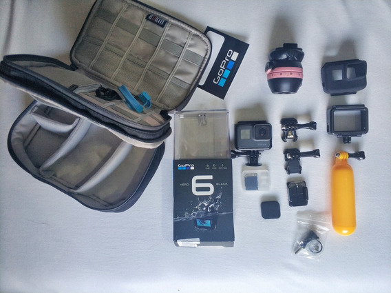 Câmera Digital Gopro Hero 6 Black + Kit Acessórios
