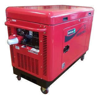 Generador Duca Honda 12000 380v Insonorizado Gpo Electrogeno