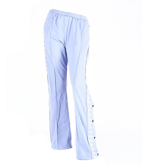 Pantalon Kappa Authentic Wastoria Snaps Ce/bl Mujer Rcmd